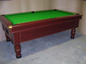 Excel Mayfair  7x4 Slate Bed Pub Pool Table - Freeplay